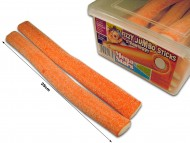 Fizzy Jumbo Sticks Strawberry - thumbnail