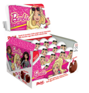 Choc. Eggs Barbie Single x24 - thumbnail