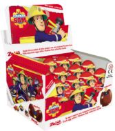 Choc. Eggs Fireman Sam Single x24 - thumbnail