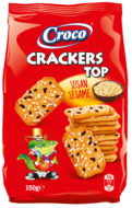 Crackers Top Sesam 150 gram - thumbnail