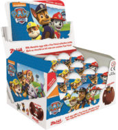 Choc. Eggs Paw Patrol Single x24 - thumbnail