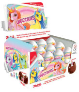 Choc. Eggs Unicorn Single x24 - thumbnail